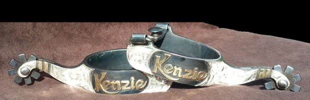 Kenzie Silver Spurs