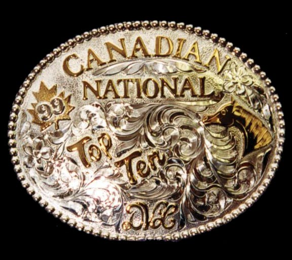 Silver Buckle – Top 10 Candian National