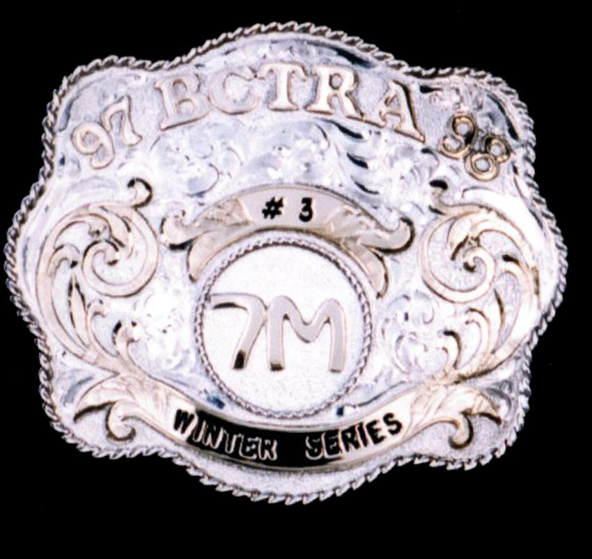 Silver Buckle – BCTRA Winter
