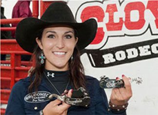 Sydni Blanchard wins Principe Silver Spurs at Cloverdale Rodeo