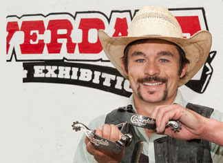 Travis Atkinson wins Principe Silver Spurs at Cloverdale Rodeo