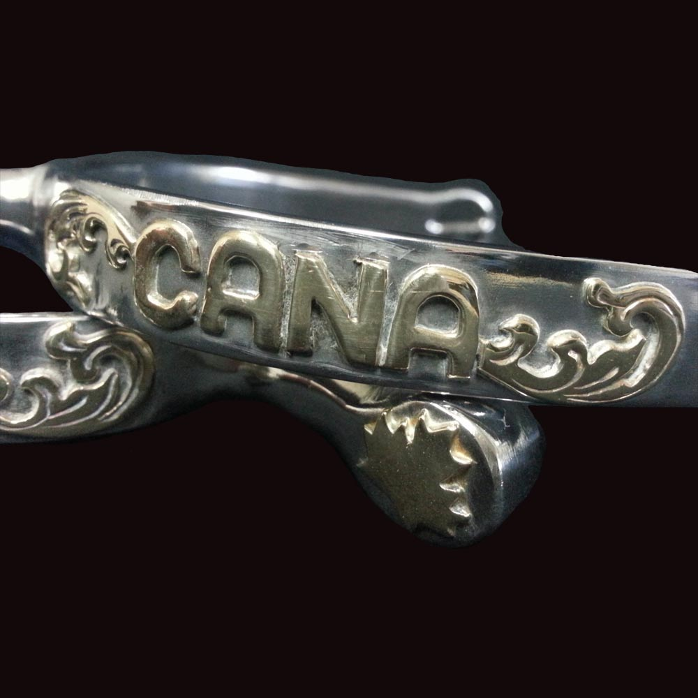 English Spurs - CANA closeup